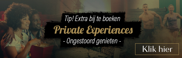 Tip! Extra bij te boeken: Private experiences arrangement.